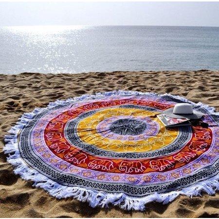 Lola Nomada Mosaic Summer Beach Roundie
