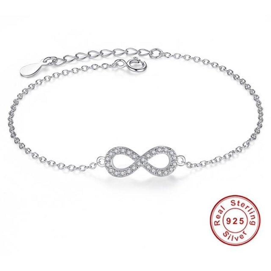Infinity armbandje 925 sterling silver
