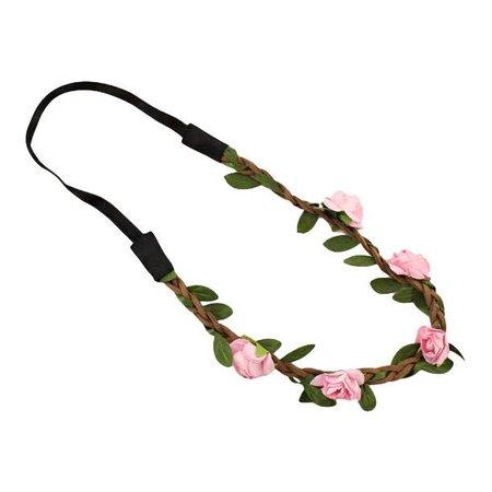 Festival proof haarband licht roze
