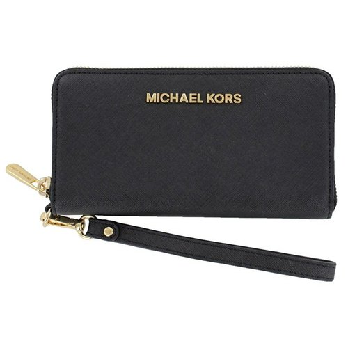 Michael Kors Jet Set Travel Portemonne Black