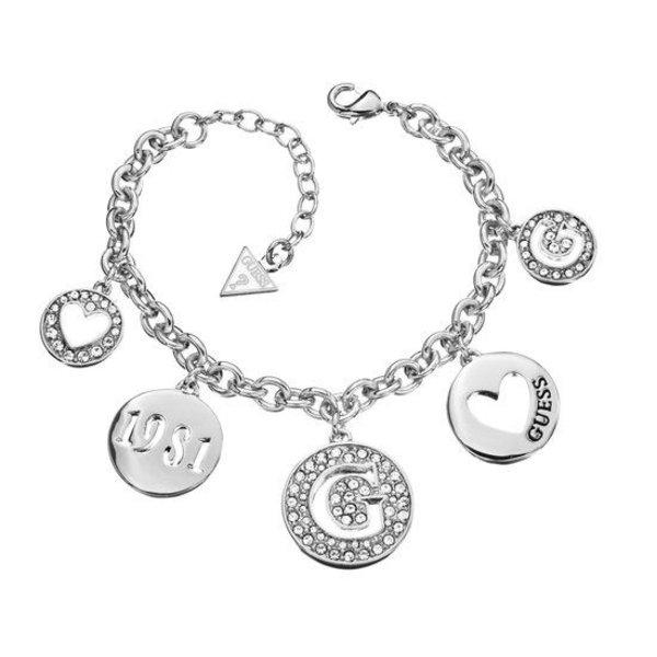 Heart coin armband UBB51430