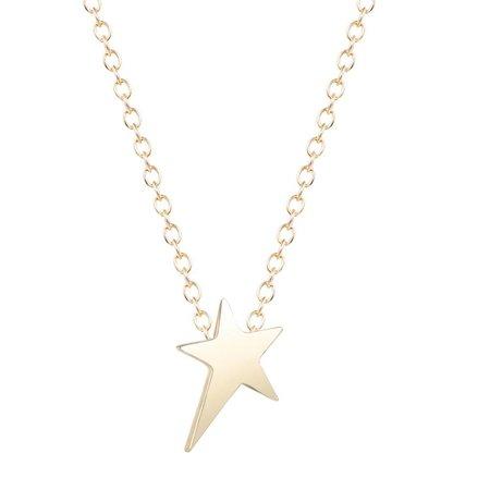 Little star ketting goud
