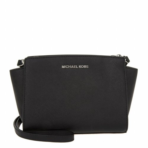 Michael Kors Selma MD NS Messenger Black 30T3SLMM2L