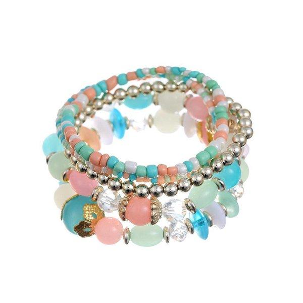 Armbanden set multicolor