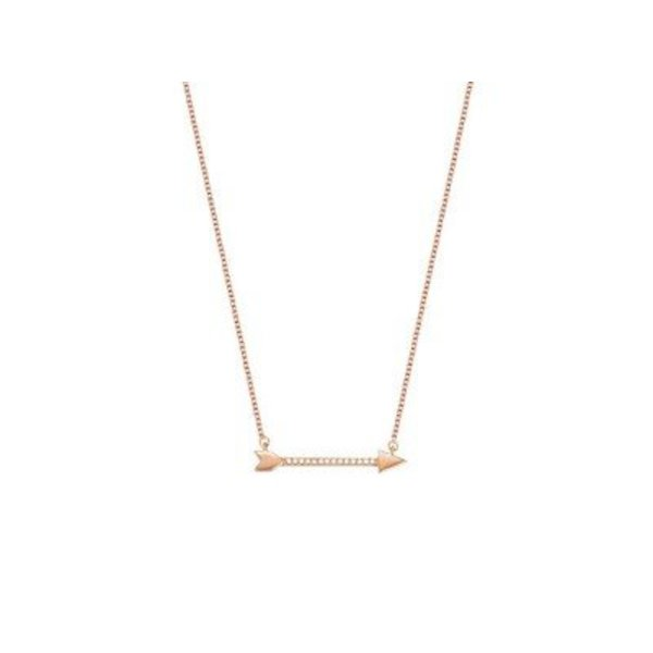 Arrow ketting EJ01476 Roségoud ESNL03413C420