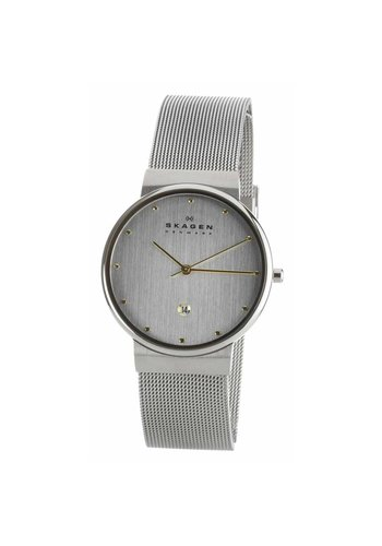 Skagen 355LGSC Ancher Zilver 34mm