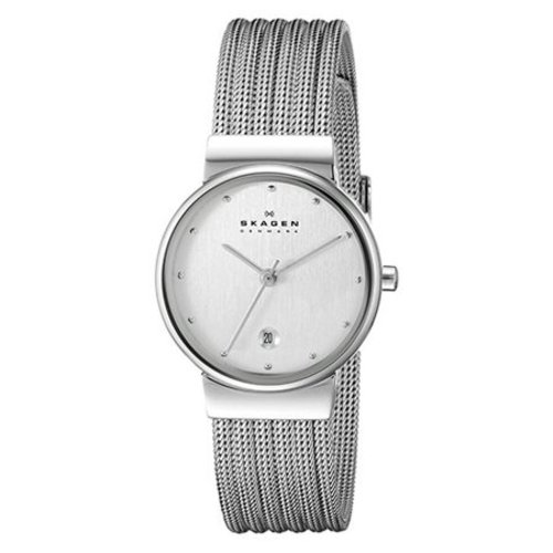 Skagen 355SSS1 Ancher Zilver 26mm