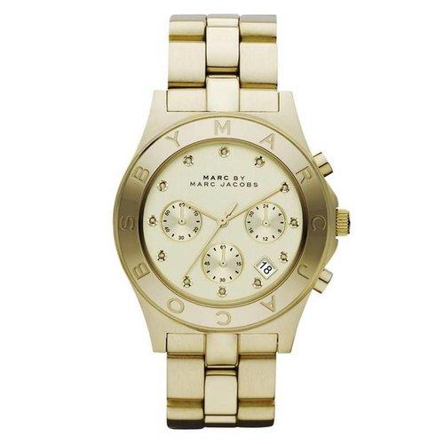 Marc Jacobs MBM3101 Blade Horloge Goud 40mm