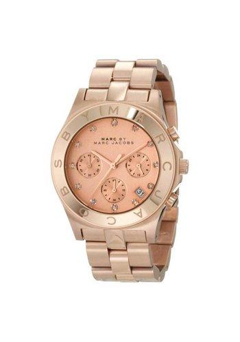 Marc Jacobs MBM3102 Blade Horloge Roségoud 40mm