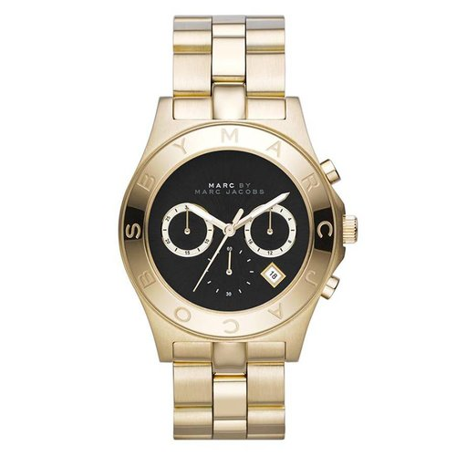 Marc Jacobs MBM3309 Blade Horloge Goud 40mm