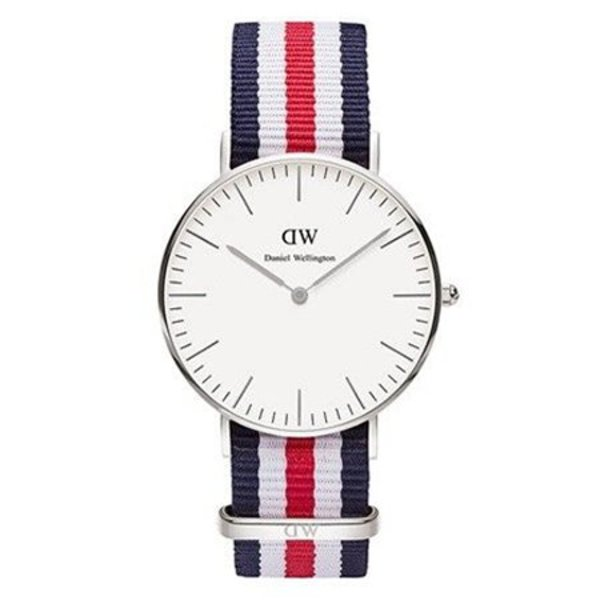DW00100051 Classic Canterbury Zilver 36mm