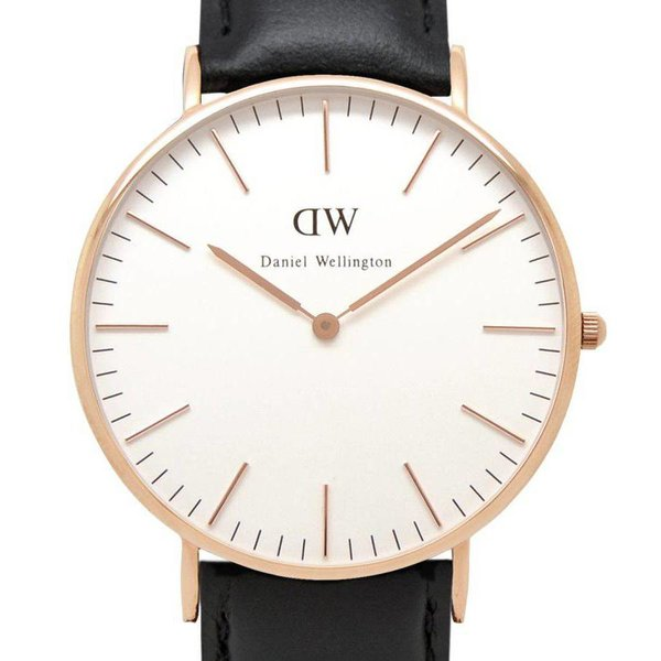 DW00100036 Classic Sheffield Roségoud 36mm