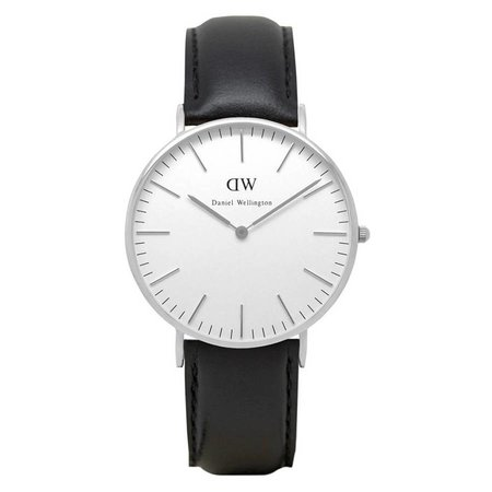 Daniel Wellington 0608DW Classic Sheffield Zilver 36mm