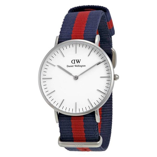 DW00100046 Classy Oxford Zilver 36mm