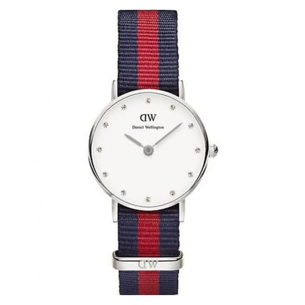 DW00100072 Classy Oxford Zilver 26mm