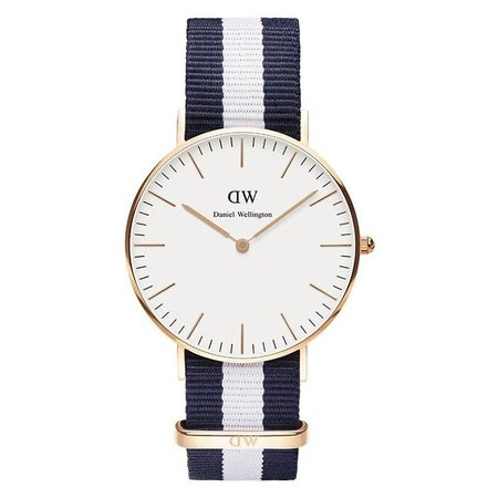 Daniel Wellington DW00100031 Glasgow Roségoud 36mm