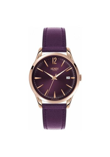 Henry London HL39-S-0080  Hampstead Paars 39mm