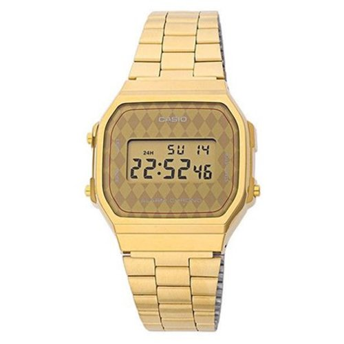 Casio A168WG-9BWEF Goud 34mm