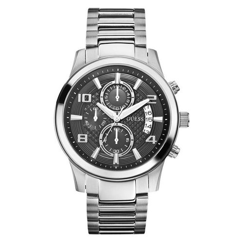GUESS W0075G1 Zilver 44mm