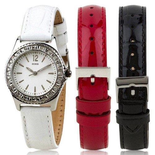 GUESS W0092L1 Horlogeset Zilver 22mm