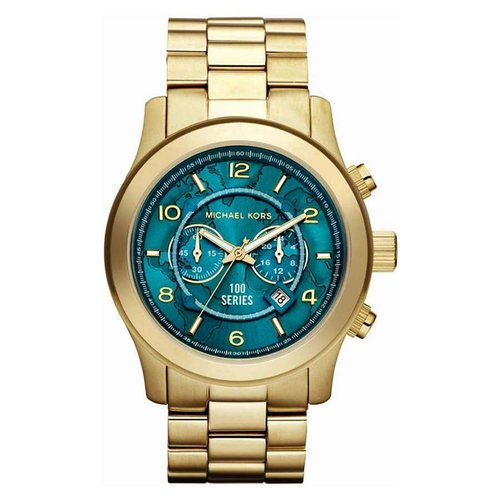 Michael Kors MK8315 Hunger Stop Goud 45mm