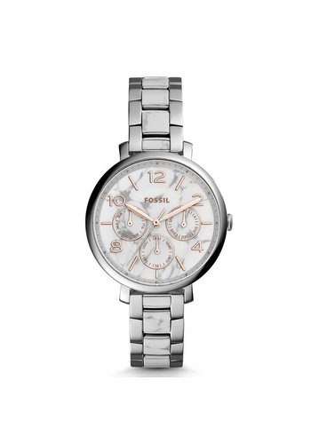 Fossil ES3939 Jacqueline Marble Zilver 36mm