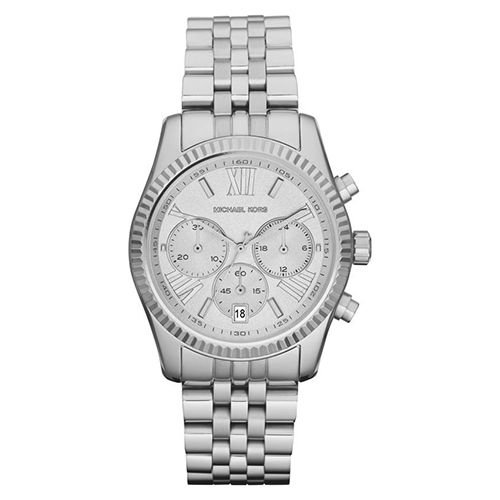 Michael Kors MK5555 Lexington Zilver 38mm