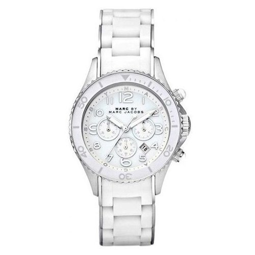 Marc Jacobs MBM2545 Rock Chrono Wit 40mm
