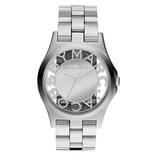 Marc Jacobs MBM3205 Henry Skeleton Zilver 40mm