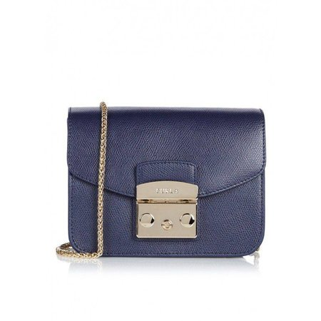 Furla Metropolis Mini Crossbody Navy