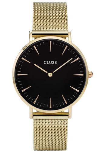 Cluse La Bohème Mesh Gold/Black CL18110 38mm