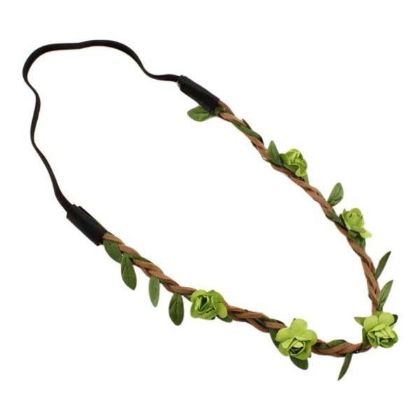 Festival proof haarband groen