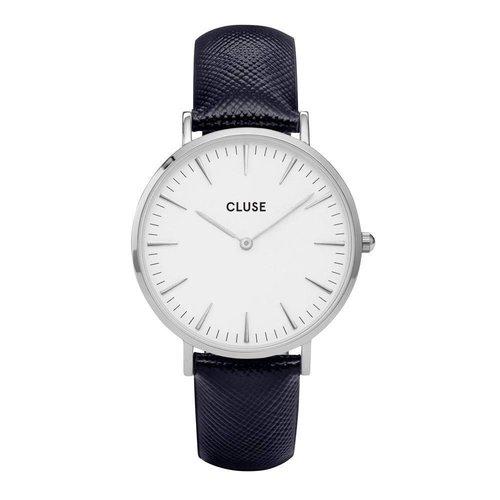CLUSE  La Bohème Silver White/Midnight Blue CL18232 38mm