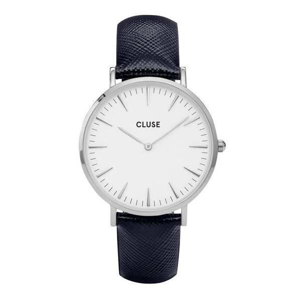La Bohème Silver White/Midnight Blue CL18232 38mm