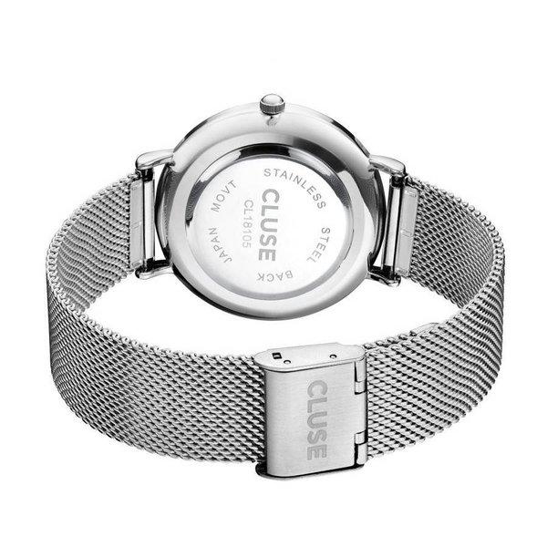 La Bohème Mesh Silver/White CL18105 38mm