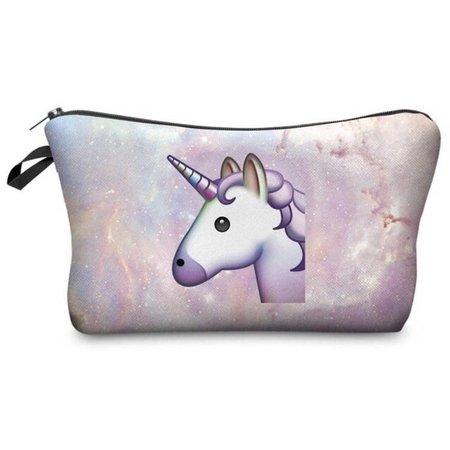 Unicorn make-up tasje