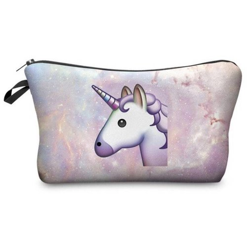 Unicorn make-up tasje