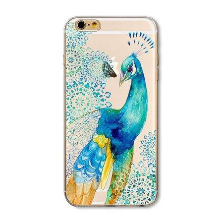 Peacock iPhone hoesje