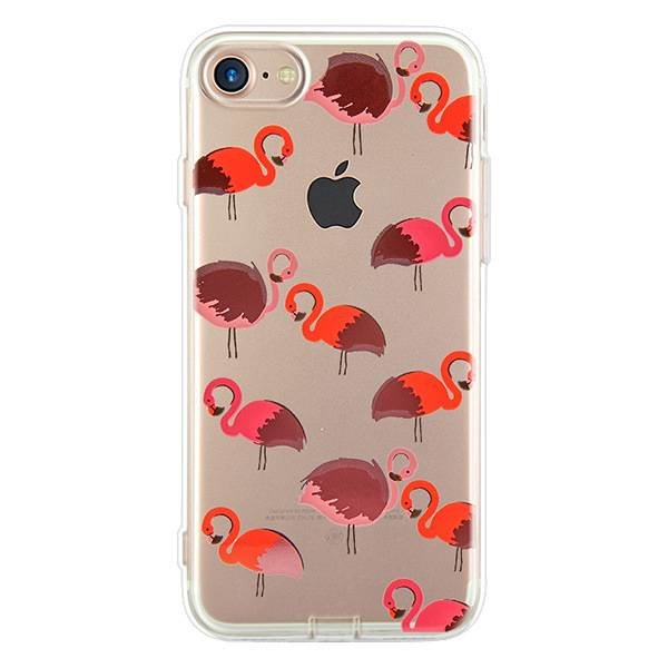 Flamingo print iPhone hoesje