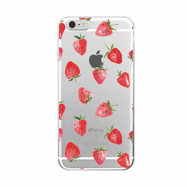 Strawberry iPhone hoesje