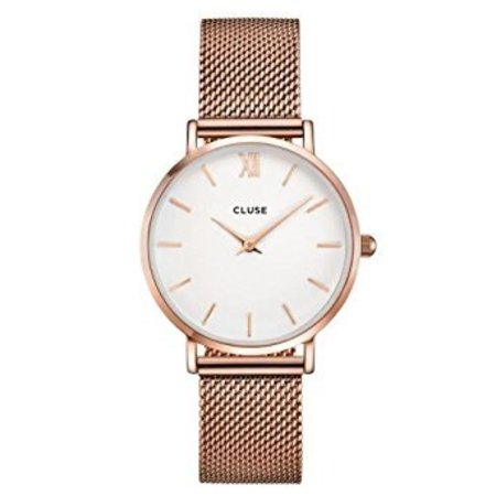 CLUSE  Minuit Mesh Rose Gold/White CL30013 33mm