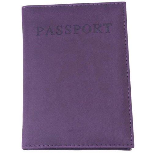 Paspoorthoesje paars