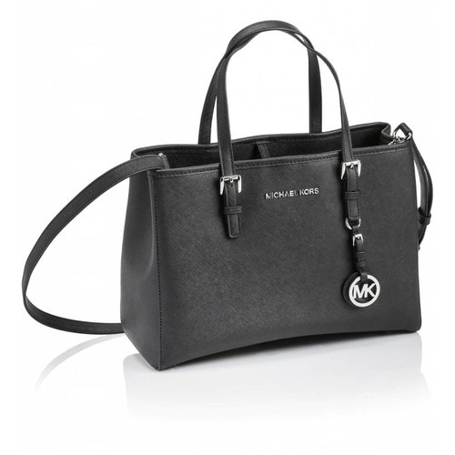Michael Kors Jet Set Travel MD Tote Black 30H3STVT8L
