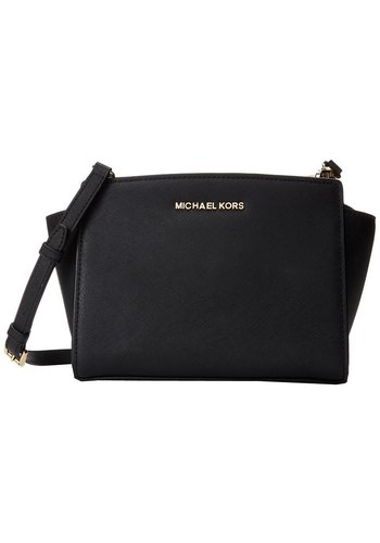 Michael Kors Selma MD NS Messenger Black 30T3GLMM2L