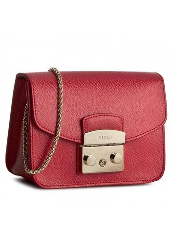 Furla Metropolis Mini Crossbody Ruby