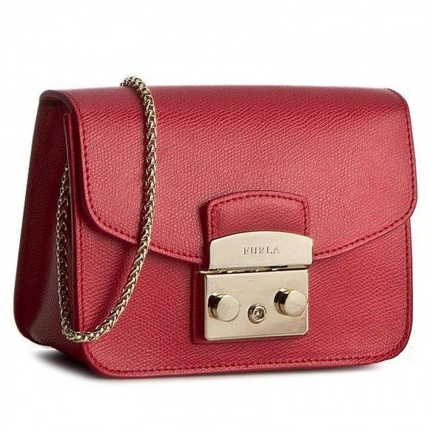 Metropolis Mini Crossbody Ruby