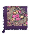 Bohemian sjaal paars