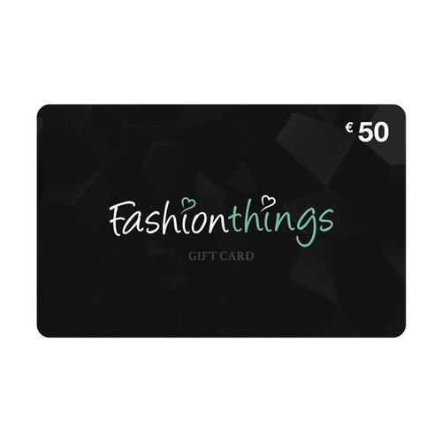 Fashionthings Giftcard € 50