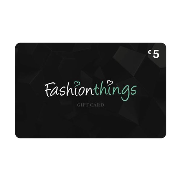 Giftcard € 5