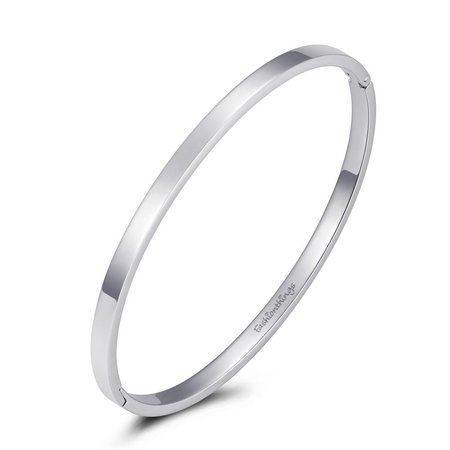 Fashionthings Bangle basic zilver 4mm